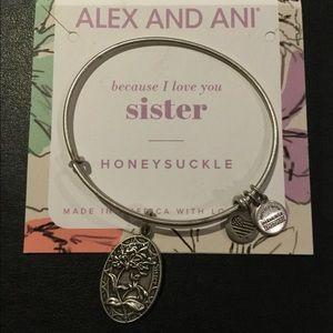 Alex and Ani Because I Love you Sister Bangle
